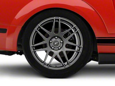Forgestar F14 Monoblock Gunmetal Wheel - 19x11 - Rear Only (05-14 All)