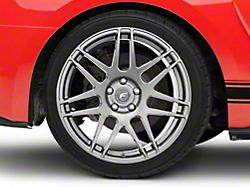 Forgestar F14 Monoblock Gunmetal Wheel; Rear Only; 19x11 (15-20 GT, EcoBoost, V6)