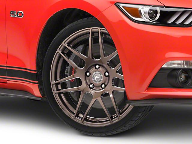 Forgestar F14 Monoblock Bronze Burst Wheel; 19x9 (15-20 GT, EcoBoost, V6)