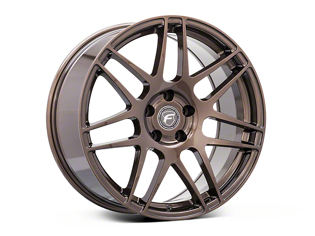 Forgestar F14 Monoblock Bronze Burst Wheel; 19x9 (05-09 All)