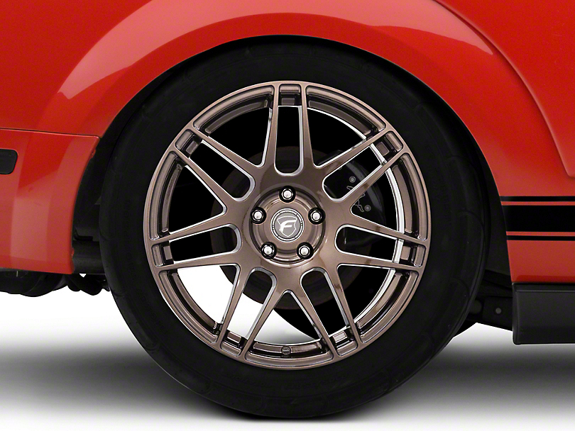 Forgestar F14 Monoblock Bronze Burst Wheel - 19x11 - Rear Only (05-14 All)