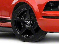 Forgestar CF5 Monoblock Matte Black Wheel - 20x11 - Rear Only (05-14 All)