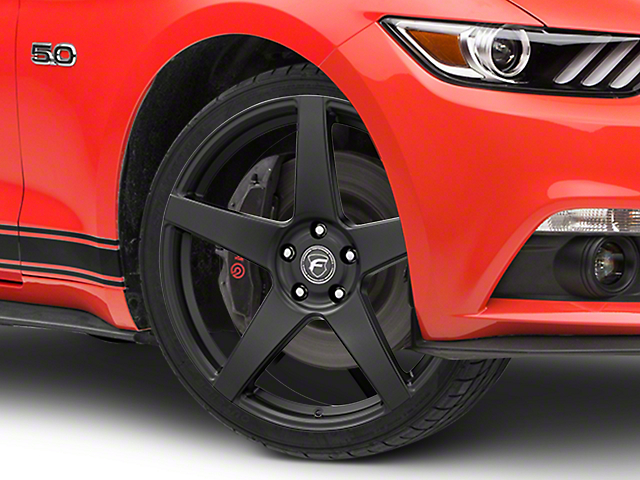 Forgestar CF5 Monoblock Matte Black Wheel - 20x9 (15-17 All)