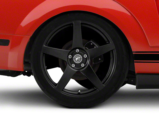 Forgestar CF5 Monoblock Matte Black Wheel - 20x11 - Rear Only (05-14 All)