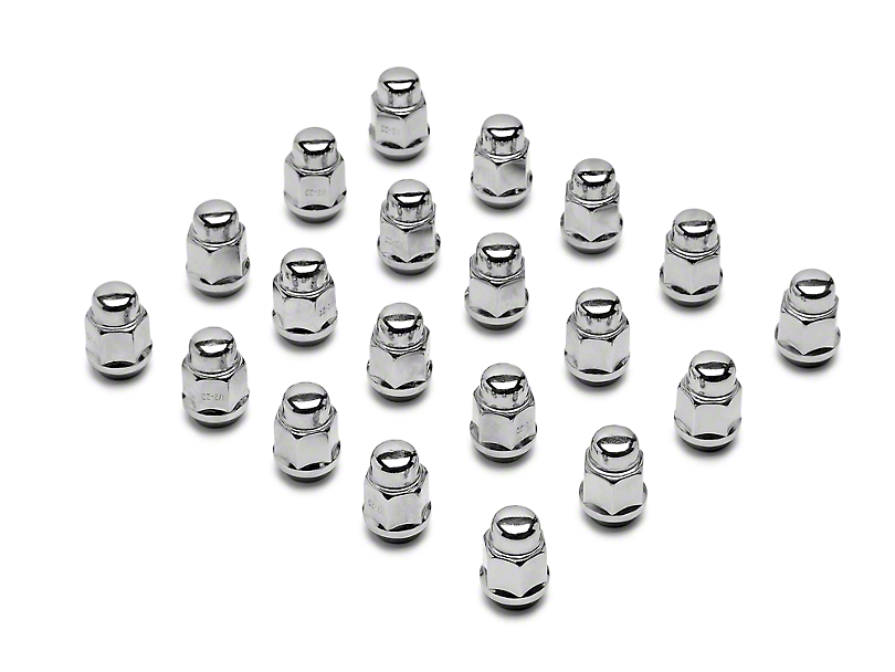 Chrome Acorn Lug Nuts - 1/2 in x 20 (79-14 All)