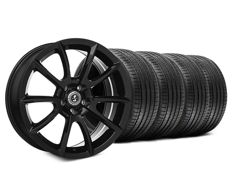 Shelby Super Snake Style Black Wheel & Sumitomo Tire Kit - 20x9 (05-14 All)