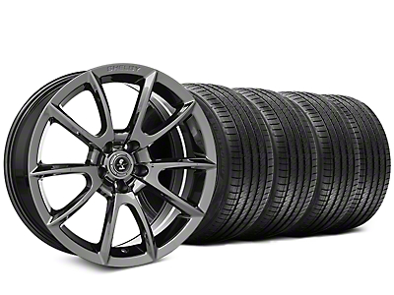 Shelby Super Snake Style Chrome Wheel & Sumitomo Tire Kit - 20x9 (05-14 All)
