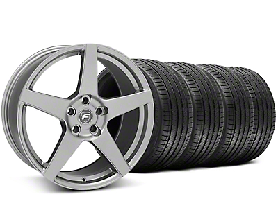 Forgestar CF5 Monoblock Gunmetal Wheel & Sumitomo Tire Kit - 20x9 (05-14 All)