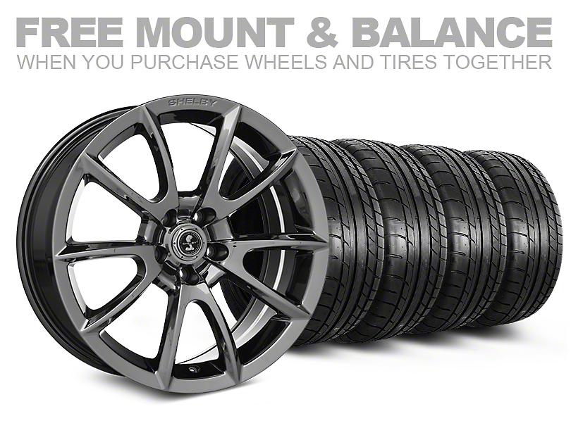 Shelby Super Snake Style Chrome Wheel & Mickey Thompson Tire Kit - 20x9 (05-14 All)
