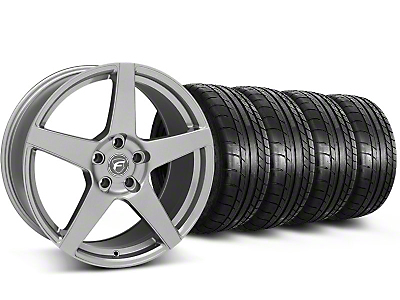 Forgestar CF5 Monoblock Gunmetal Wheel & Mickey Thompson Tire Kit - 20x9 (05-14 All)