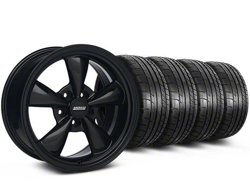 Bullitt All Black Mustang Wheel & Mickey Thompson Tire Kit - 18x8 (94-98 All)
