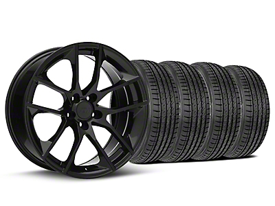 2015 Mustang GT Style Black Wheel & Sumitomo Tire Kit - 19x8.5 (05-14 GT, V6)