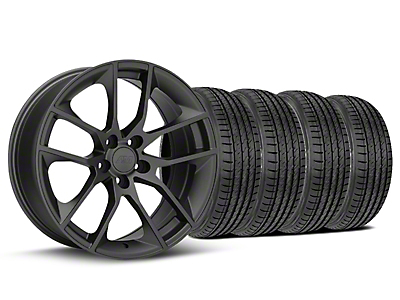 Magnetic Style Charcoal Wheel & Sumitomo Tire Kit - 19x8.5 (05-14 GT, V6)