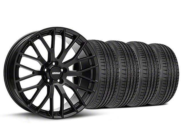 Performance Pack Style Black Wheel & Sumitomo Tire Kit - 19x8.5 (05-14 All)