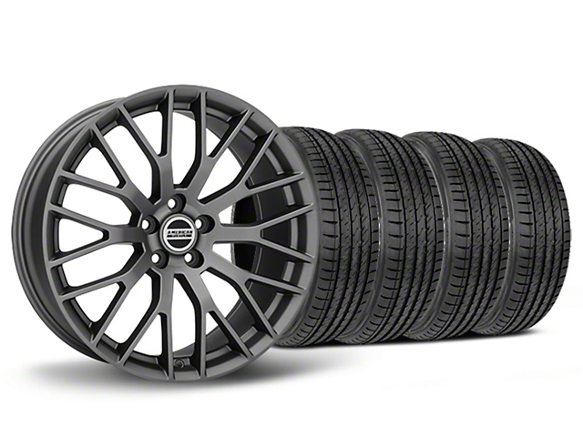 Performance Pack Style Charcoal Wheel & Sumitomo Tire Kit - 19x8.5 (05-14 All)