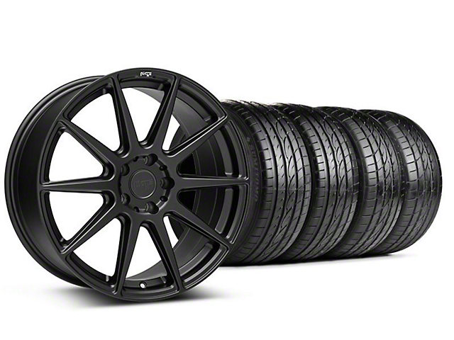 Niche Essen Matte Black Wheel & Sumitomo Tire Kit - 19x8.5 (05-14 All)