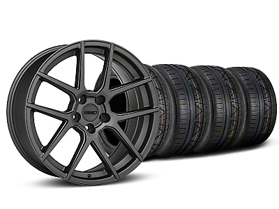 MMD Zeven Charcoal Wheel & NITTO INVO Tire Kit - 19x8.5 (05-14 All)