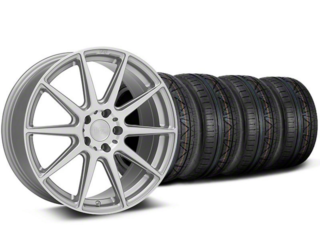 Niche Essen Silver Wheel & NITTO INVO Tire Kit - 19x8.5 (05-14 All)