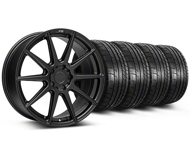 Niche Essen Matte Black Wheel & Mickey Thompson Tire Kit - 19x8.5 (05-14 All)