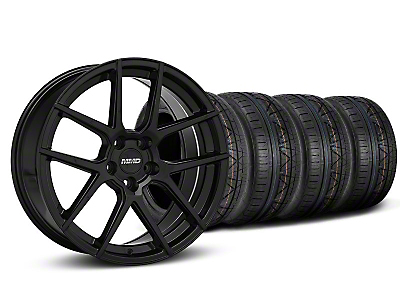 MMD Zeven Black Wheel & NITTO INVO Tire Kit - 20x8.5 (05-14 All)