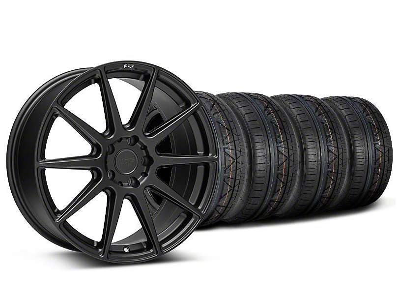 Niche Essen Matte Black Wheel & NITTO INVO Tire Kit - 20x9 (05-14 All)