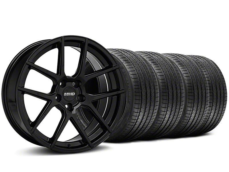 MMD Zeven Black Wheel & Sumitomo Tire Kit - 20x8.5 (05-14 All)