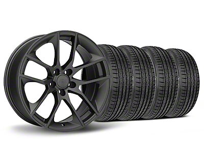 Staggered Magnetic Style Charcoal Wheel & Sumitomo Tire Kit - 19x8.5 (05-14 All)