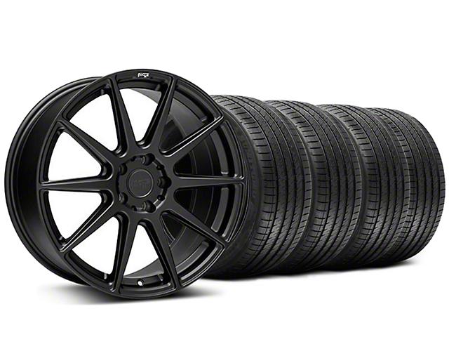 Staggered Niche Essen Matte Black Wheel & Sumitomo Tire Kit - 20x9/10 (05-14 All)