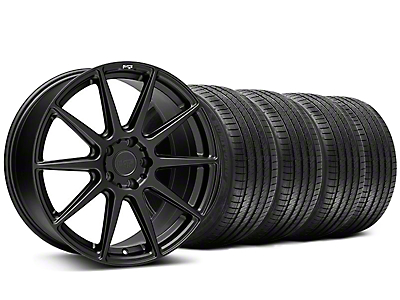 Staggered Niche Essen Matte Black Wheel & Sumitomo Tire Kit - 20x9/10 (05-14 All)
