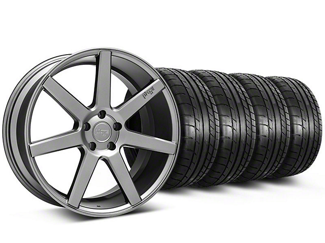 Staggered Niche Verona Anthracite Wheel & Mickey Thompson Tire Kit - 20x9/10 (05-14 All)