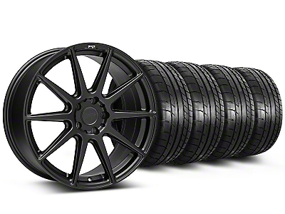 Staggered Niche Essen Matte Black Wheel & Mickey Thompson Tire Kit - 20x9/10 (05-14 All)