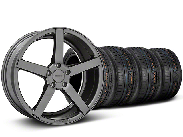 CV3-R Graphite Wheel and NITTO INVO Tire Kit; 20x9 (05-14 All)