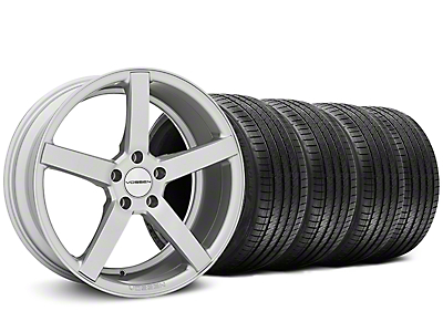 CV3-R Metallic Silver Wheel & Sumitomo Tire Kit - 20x9 (05-14 All)