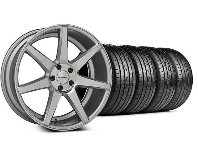 CV7 Silver Polished Wheel & Sumitomo Tire Kit - 20x9 (05-14 All)