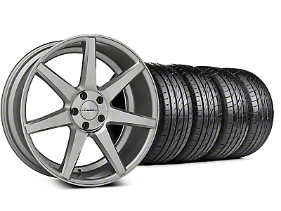 CV7 Silver Polished Wheel & Sumitomo Tire Kit - 20x9 (05-14 All)