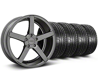 CV3-R Graphite Wheel & Mickey Thompson Tire Kit - 20x9 (05-14 All)