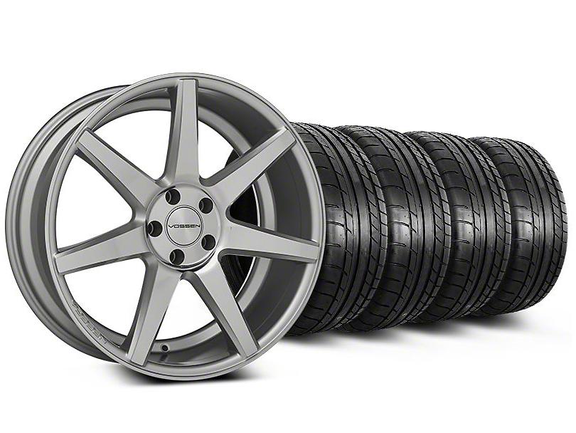 CV7 Silver Polished Wheel & Mickey Thompson Tire Kit - 20x9 (05-14 All)