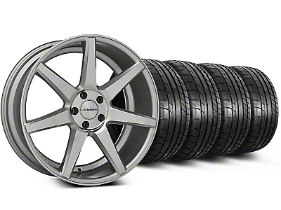 CV7 Silver Polished Wheel & Mickey Thompson Tire Kit - 20x9 (05-14 All)