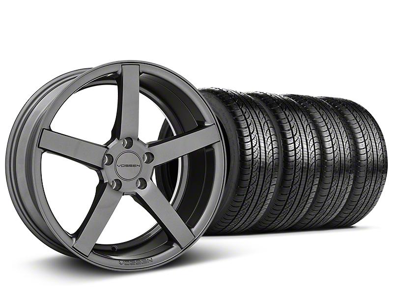 CV3-R Graphite Wheel & Pirelli Tire Kit - 19x8.5 (05-14 All)