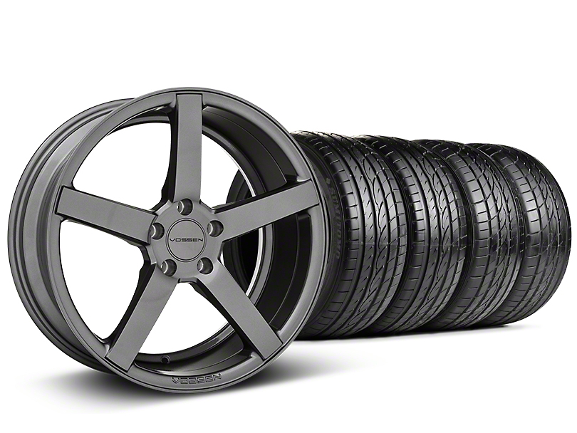 CV3-R Graphite Wheel & Sumitomo Tire Kit - 19x8.5 (05-14 All)