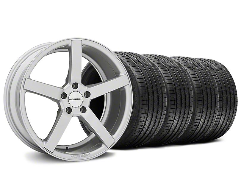 Staggered CV3-R Metallic Silver Wheel & Sumitomo Tire Kit - 20x9/10.5 (05-14 All)