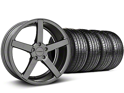 Staggered CV3-R Graphite Wheel & Sumitomo Tire Kit - 19x8.5/10 (05-14 All)