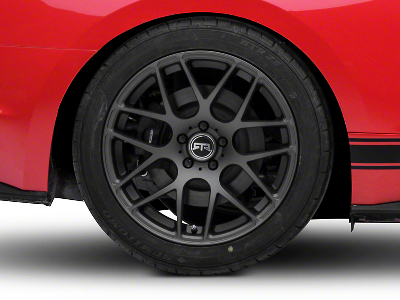 RTR Charcoal Wheel - 19x10 - Rear Only (15-19 GT, EcoBoost, V6)