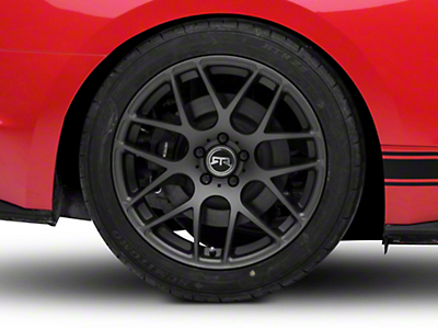 RTR Charcoal Wheel - 19x10 (15-18 GT, EcoBoost, V6)