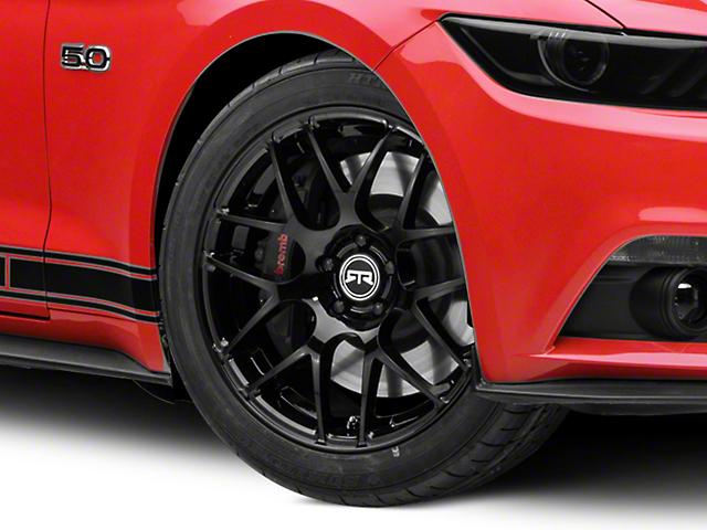 RTR Black Wheel - 19x8.5 (15-17 All)