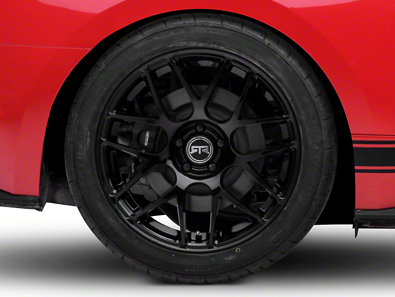 RTR Black Wheel - 19x10 (15-18 GT, EcoBoost, V6)