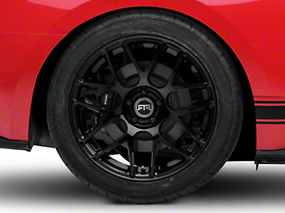 RTR Black Wheel - 19x10 (15-19 GT, EcoBoost, V6)