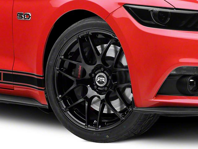RTR Black Wheel - 20x9 (15-19 GT, EcoBoost, V6)