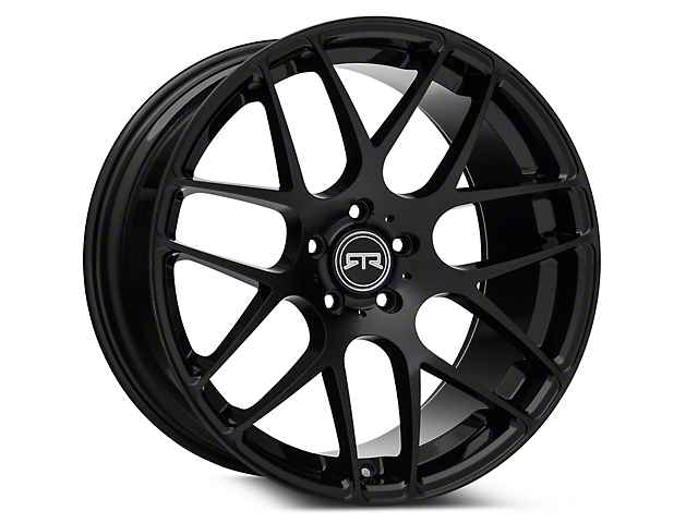 RTR Black Wheel - 20x10 (15-19 GT, EcoBoost, V6)