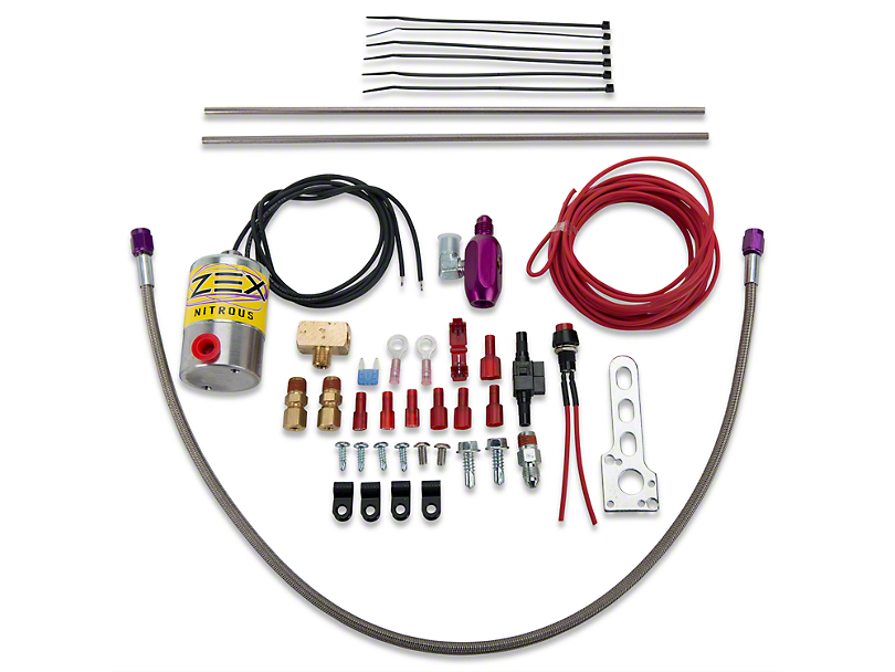 ZEX Nitrous Dual Outlet Purge Kit (79-20 All)